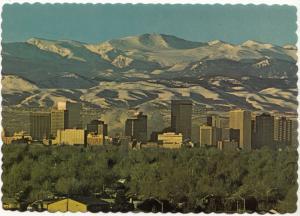 Denver, Colorado, Mile High City, unused Postcard