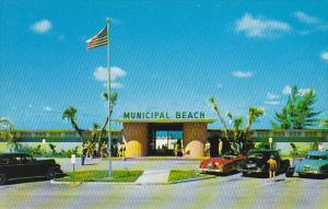 Entrance To Public Beach on Holiday Isles St Petersburg Florida