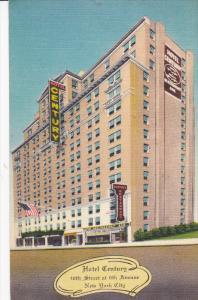 Hotel Century, 46th Street at 6th Avenue, New York City, New York, PU-1961