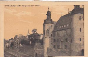 Alte Burg an der Mosel, COBLENZ, Rineland-Palatinate, Germany, 00-10's