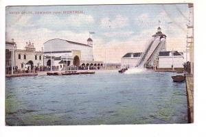 Water Chute, Amusement Ride, Dominion Park, Montreal Quebec,