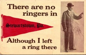 Pennsylvania Stewartstown There Are No Ringers 1913 Pennant Series