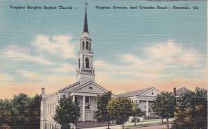ROANOKE , Virginia, 30-40s; Virginia Heights Baptist Church
