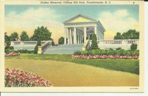 Poughkeepsie,N.Y., Dudley Memorial,College Hill Park