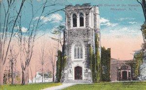 RHINEBECK, New York, PU-1924; Church Of The Messiah
