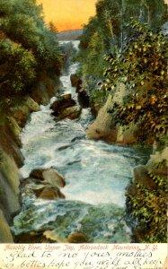 NY - Ausable River. Upper Jay