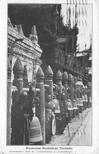 Burmese Buddhist Temple Advertising Ship Cleveland Ship 1909