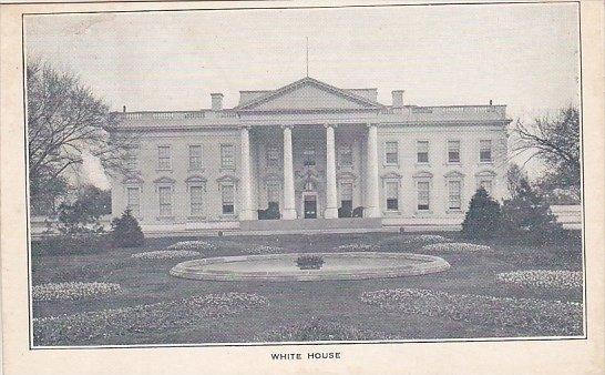 White House Washington D C 1908