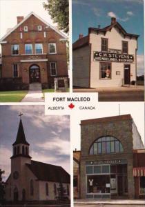 Canada Courthouse C W Stevens Building Holy Cross Roman Catholic Church & Mai...