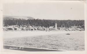 RP, Partial View, SECHELT, British Columbia, Canada, PU-1958