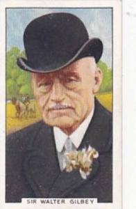 Gallaher Vintage Cigarette Card Sporting Personalities No 20 Sir Walter Gilbe...
