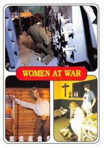 Postcard Eden Camp, Women at War, Malton, North Yorkshire #M45