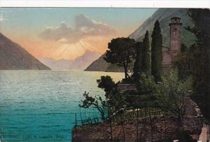 Switzerland Lago di Lugano Oria