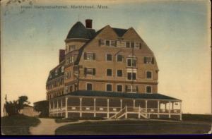 Marblehead MA Hotel Nananeposhamet c1910 Postcard