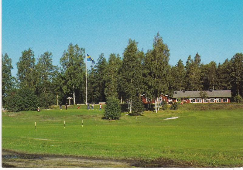 Post Card Sweden Sandviken Hogbo Golfklubb