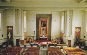 Interior of Church, Ste-Marguerite-Marie, Magog, Quebec, Canada, PU-1984