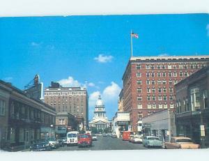 Pre-1980 STREET SCENE Springfield Illinois IL W1193