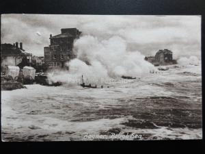 West Sussex: BOGNOR, Rough Sea c1918