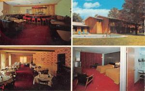 Stamford New York Red Carpet Motor Inn Multiview Vintage Postcard K96882