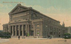 BOSTON, Massachusetts, PU-1911 ; Symphony Hall