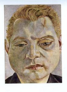 142285 Francis BACON painter by Lucian FREUD Old russian PC