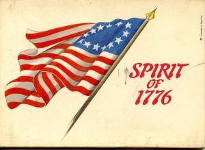 Folder - Spirit of 1776 (Revolutionary Military Historical Art by J. Leffel)