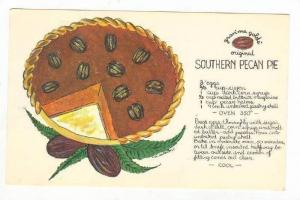 Recipie   Southern Pecan pie, 50-60s