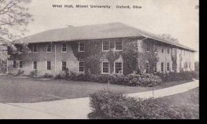 Ohio Oxford West Hall Miami University Albertype