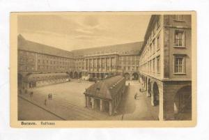 Aerial View of Courtyard @ Rathaus,Barmen,Wuppertal,Germany 1900-10s