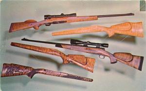 Advertising 1950s Gun Stock Interior Yama Wood Dana Point California 8704