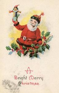 Greeting - Christmas. Santa Claus