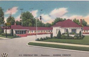 Oregon Eugene Hotel Wil-Mar 1956 sk411