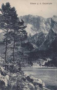Raum Nur Fur Mitteilungen, Eibsee g. d. Gayakopfe, Bavaria, Germany, 1900-1910s