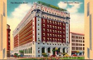 Massachusetts Worcester The Sheraton Hotel