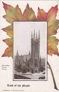 Toronto , Ontario , Canada , 1900-10s : Metropolian Church / Maple Leaf