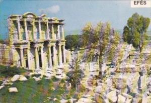 Turkey Efes Izmir The Library Of Celsus