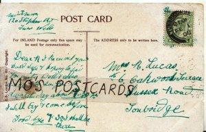 Genealogy Postcard - Lucas - Oakwood Terrace - Sussex Road - Tonbridge  Ref 548B