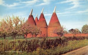Vintage 1960s Postcard Kentish Oast Houses, Kent by J. Salmon Ltd L76