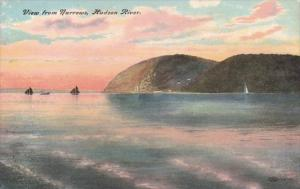 New York Hudson River View From The Narrows 1908