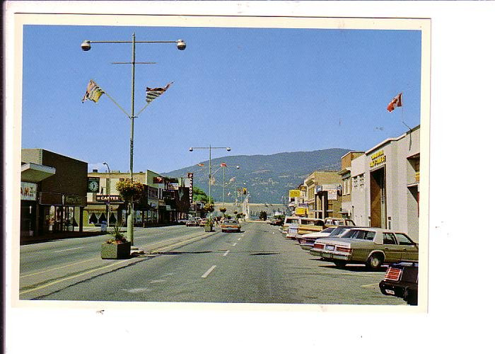 Downtown, Kelowna, British Columbia,