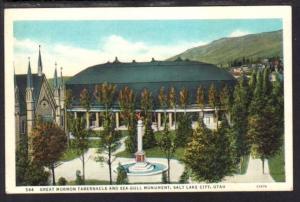 Great Mormon Tabernacle Salt Lake City UT Postcard 4108