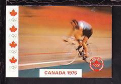 Cycling,Montreal Olympics 1976 Postcard