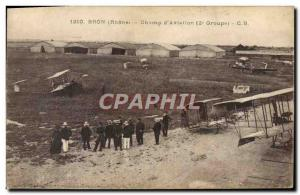 Old Postcard Jet Aviation Bron Field & # 39aviation 2nd group