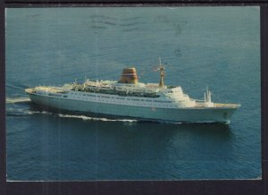 M/S Sagafjord Steamer Norwegian America Line BIN