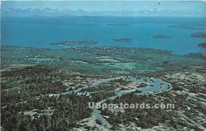 Cadillac Mountain Bar Harbor ME 1970