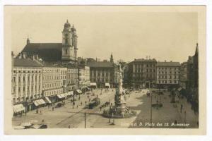 RP, Linz a.d. D. Platz Des 12. November, Upper Austria, Austria, 1920-40s