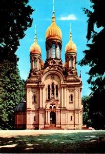 Germany Wiesbaden Griechische Kapelle Greek Cathedral