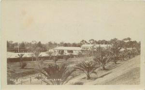 Adelaide Australia Bordon Parade Ground C-1910 RPPC Photo Postcard 4865