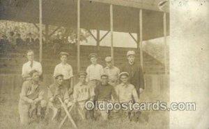A.B.B.C Team Baseball, Base Ball Team, Unused crease top edge, light wear, pi...