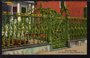 The Corn Fence,Royal Street,New Orleans,LA